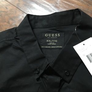 NWT Guess Los Angeles short sleeve button up